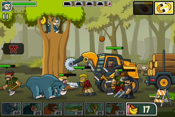End Game - Side-scroller defense game for iPhone, game for iPad, game apps for Android